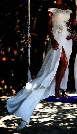 Атласные свадебные платья – сказочно красивый наряд