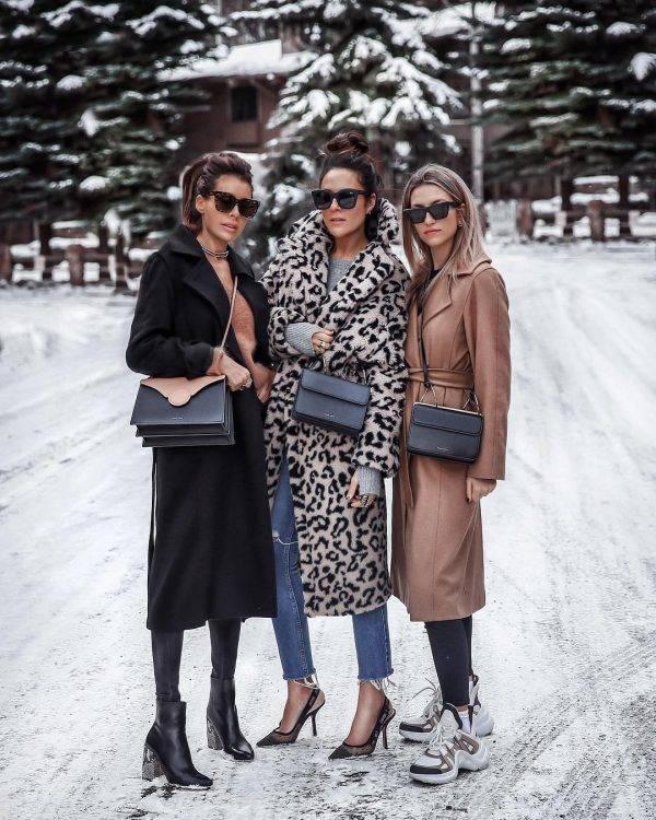 Модные вязаные и трикотажные платья на осень и зиму 2019-2020 года