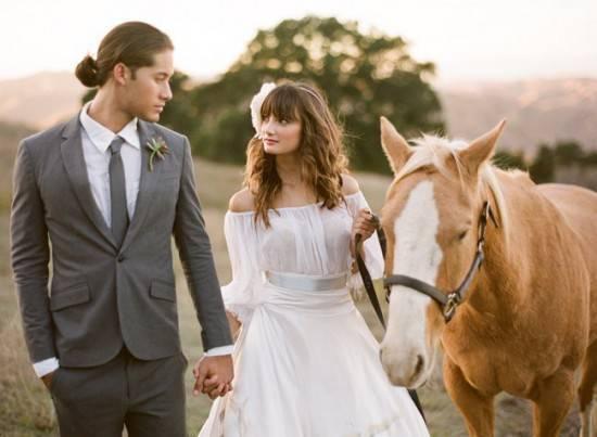 Как создать естественный образ невесты