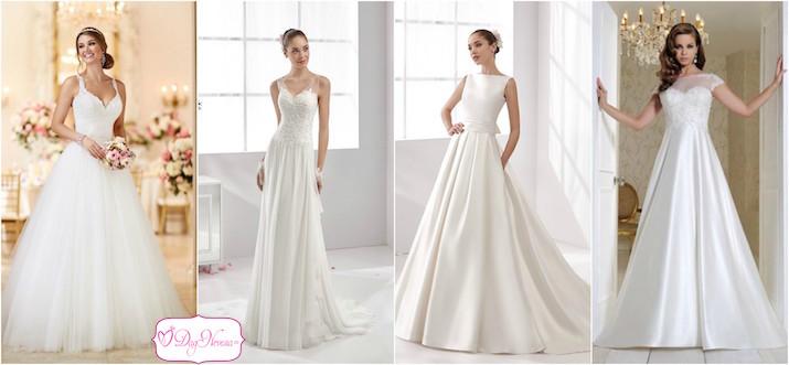 Свадебное платье для маленькой груди