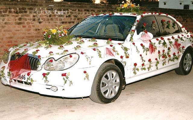Как украсить машину на свадьбу, нарядить своими руками, фото и видео
