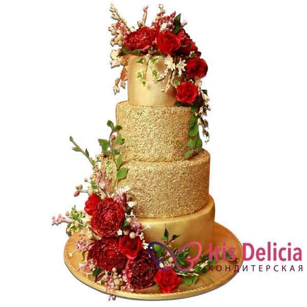 Оригинальное оформление дизайна свадебного торта: стили и варианты