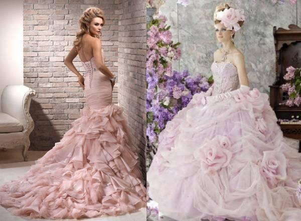 Нежно-розовое платье – обзор самых модных моделей для девушек и женщин