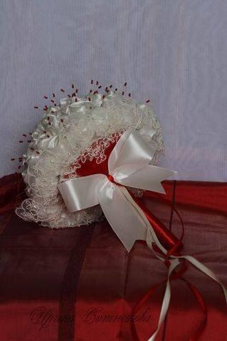 Букет невесты из атласных лент: пошаговые мастер-классы и фото
