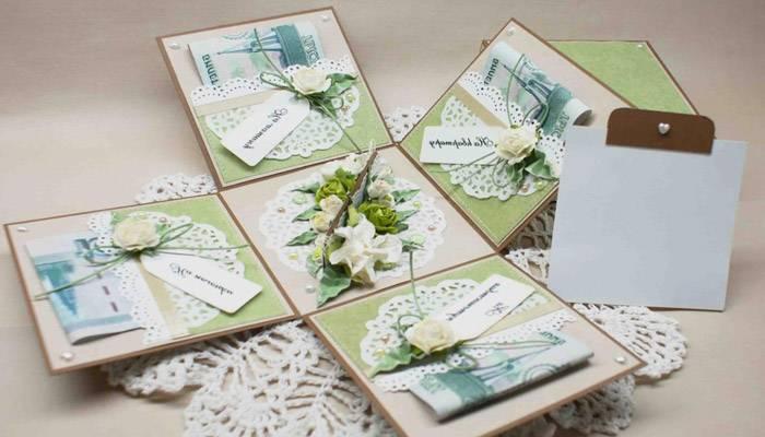 Оригинальные подарки на свадьбу своими руками
