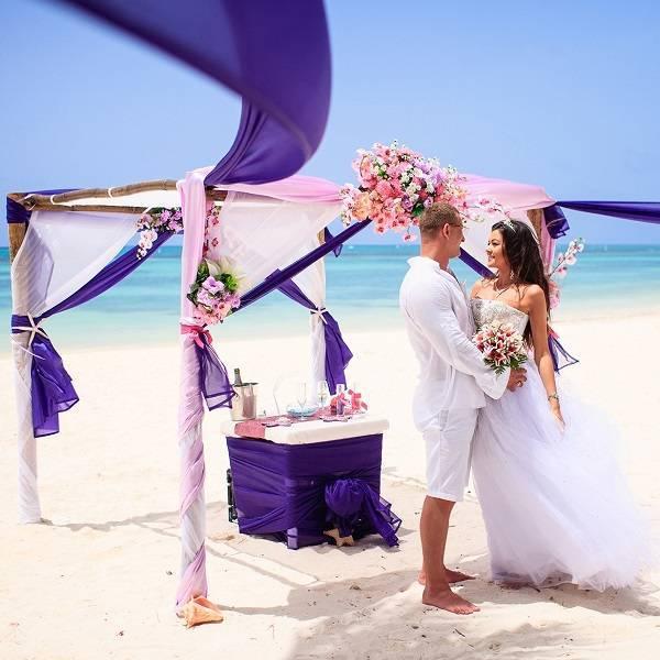 Выбор пляжного свадебного платья