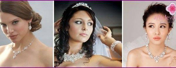 Свадебное колье из бисера: необычный вариант украшения для невесты