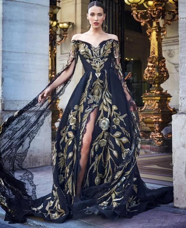 Платья с открытой спиной: откровенный шарм