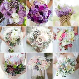 Розовый свадебный букет невесты