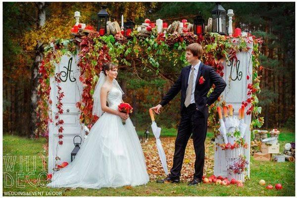 Оформление президиума на свадьбу, идеи с фото и видео