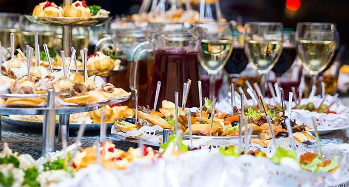 Свадьба дома – примерное меню и несколько рецептов для экономии семейного бюджета