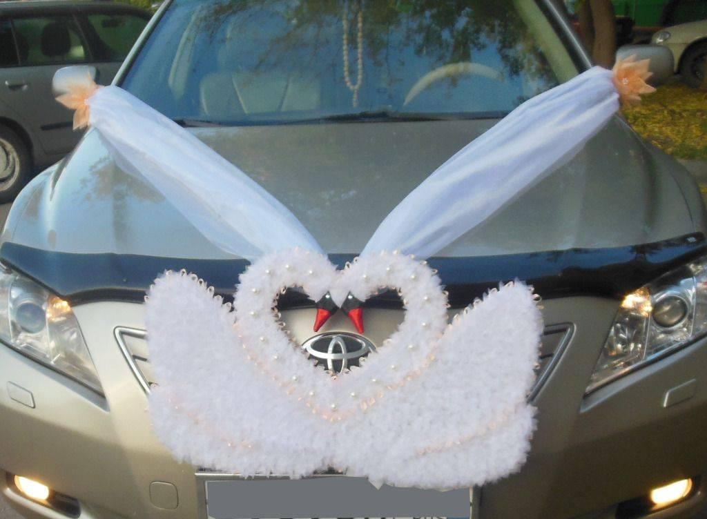 Как сшить украшение на свадебную машину