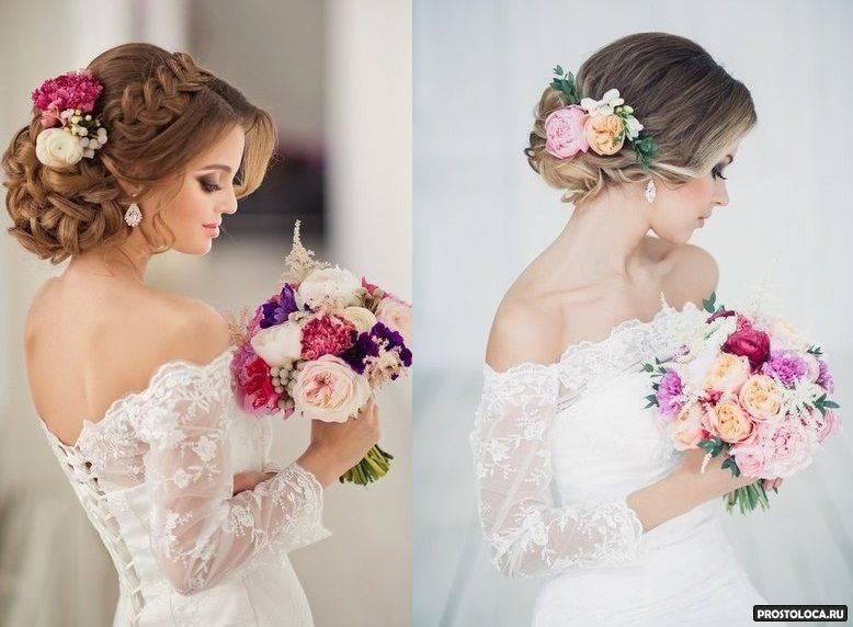 Свадебные прически: фото, 200 лучших идей для невест