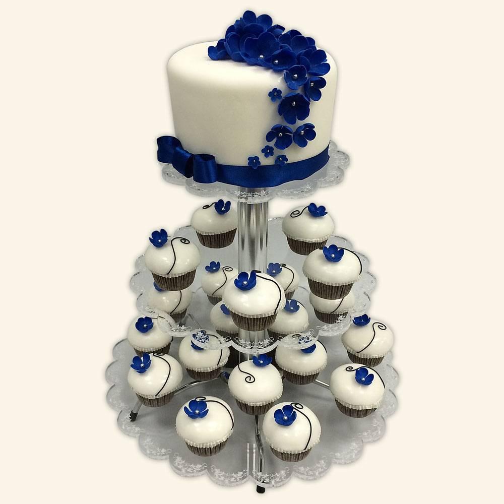 Торты с капкейками новая свадебная мода!