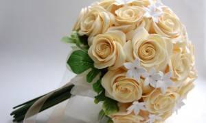 Свадебный букет из глины