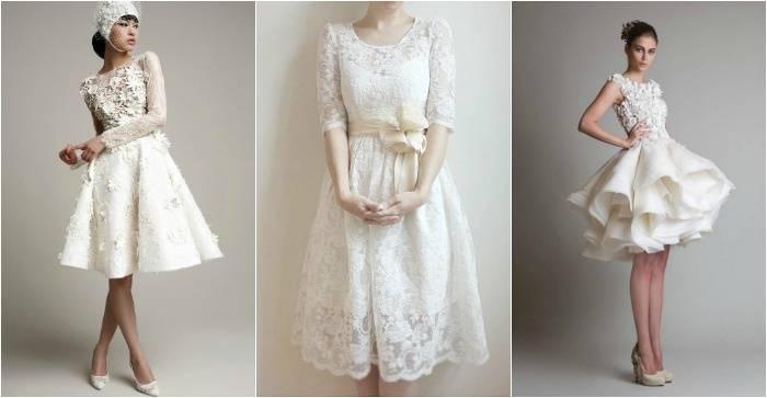 Атласное свадебное платье — блестящее решение проблемы выбора +80 фото