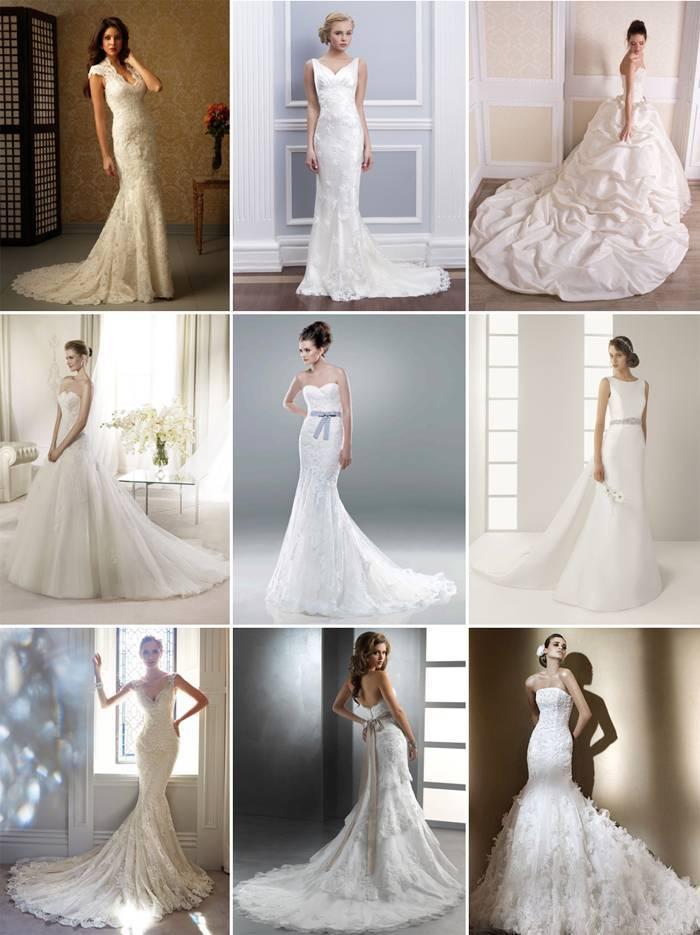 Длинные свадебные платья — роскошный и оригинальный формат наряда + 67 фото