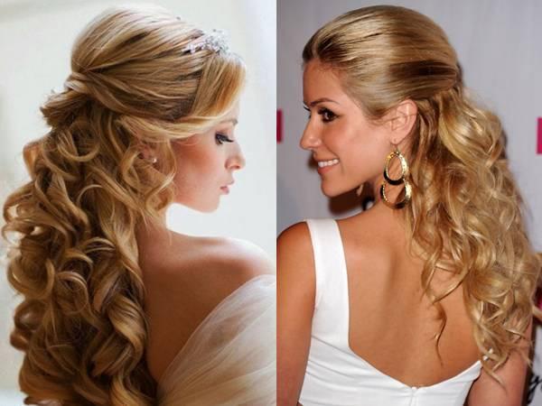 Прически на свадьбу для коротких волос