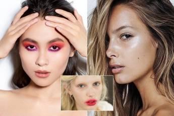 Как создать макияж с красной помадой?