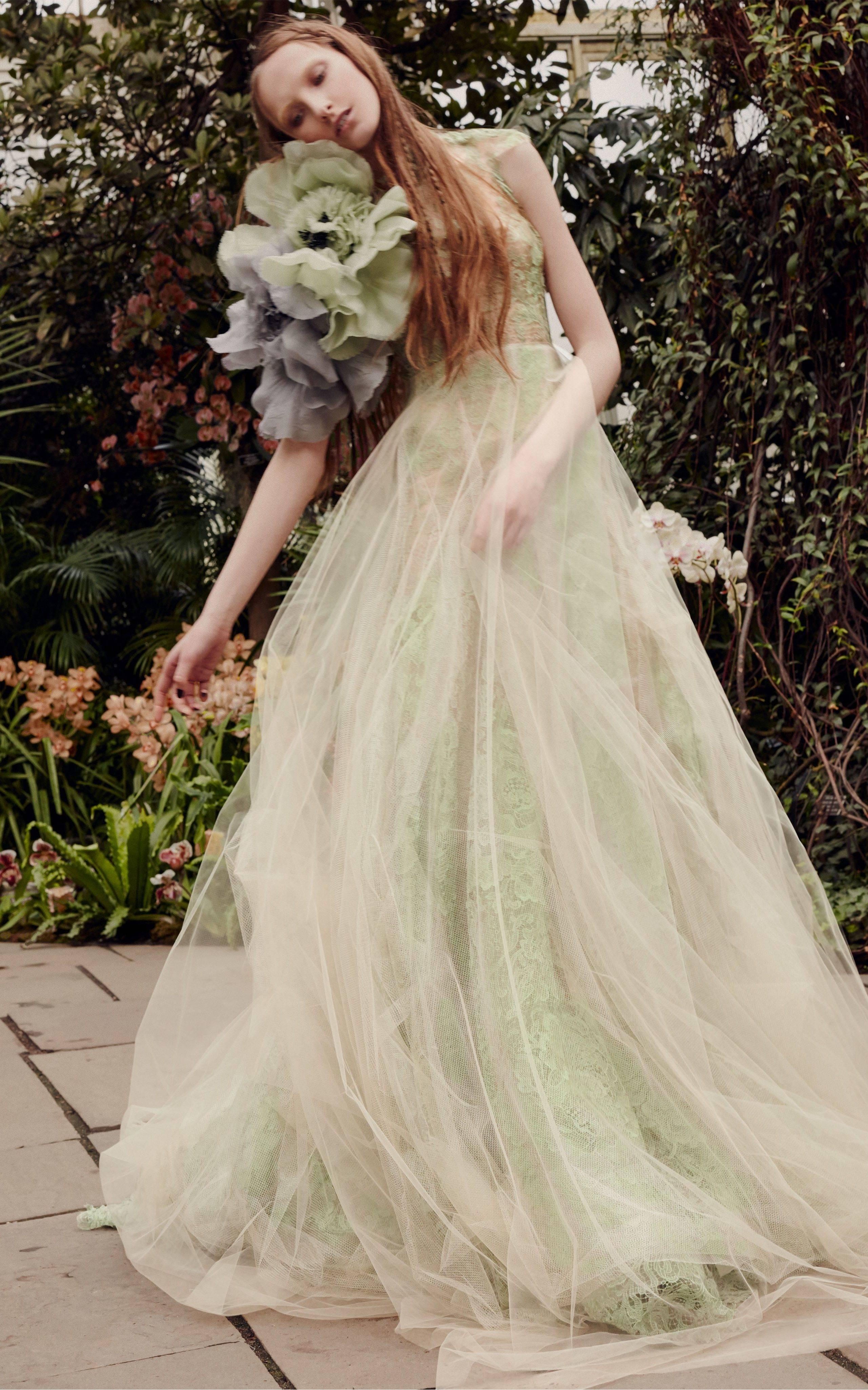Дизайнерские свадебные платья веры вонг