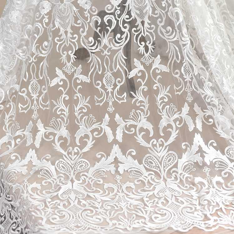 Свадебные ткани для пошива платья невесты