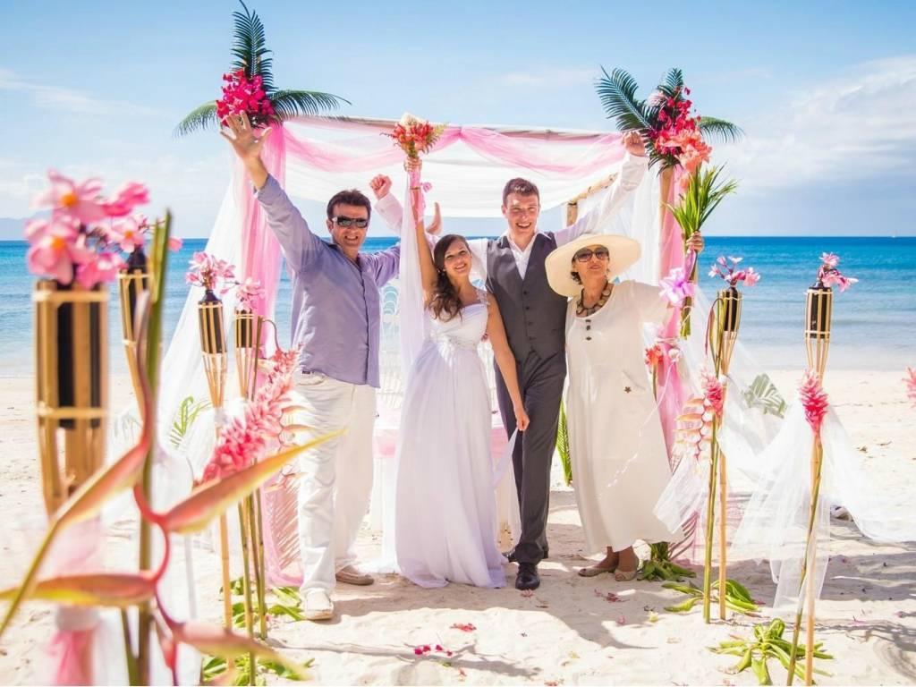 Свадебная церемония вдали от дома – на солнечном курорте шри-ланка
