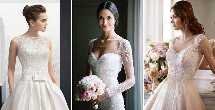 Свадебная бижутерия (72 фото): комплекты для невесты на свадьбу