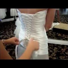 Виды свадебных платьев с корсетом, как их шнуровать — объясняем детально
