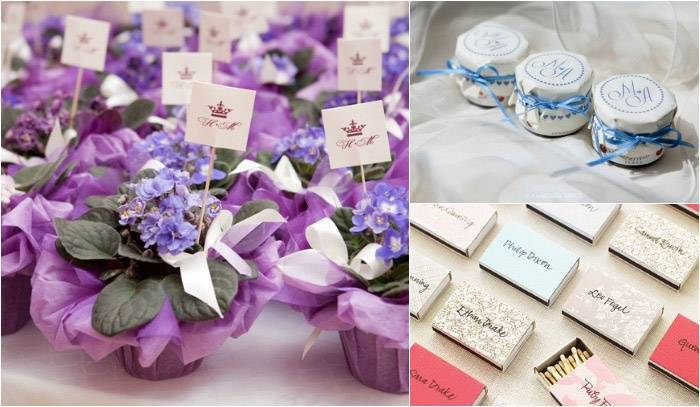 Подарки гостям на свадьбе от молодоженов: идеи оригинальных свадебных сувениров от жениха и невесты