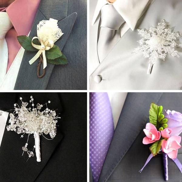 Бутоньерка и букет невесты своими руками