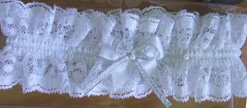 Подвязка невесты своими руками
