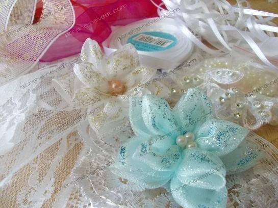 Изготовление подвязки для невесты  своими руками