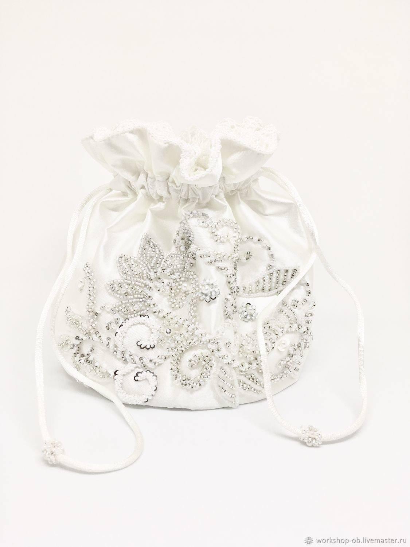 Свадебный аксессуар своими руками — сумочка для невесты