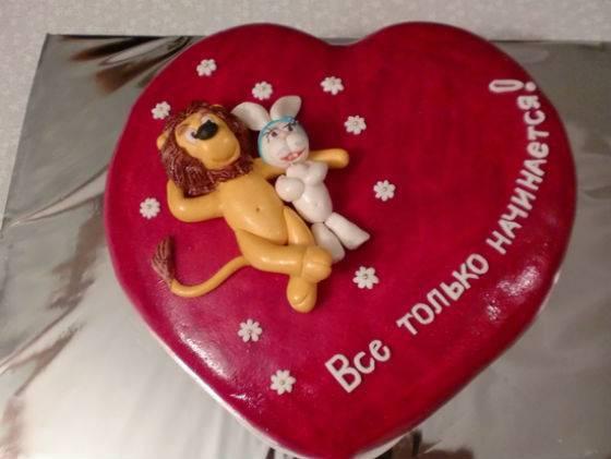 Торт на годовщину свадьбы – фото