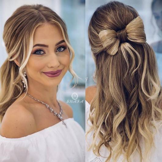 Красивые свадебные прически на длинные волосы — фото