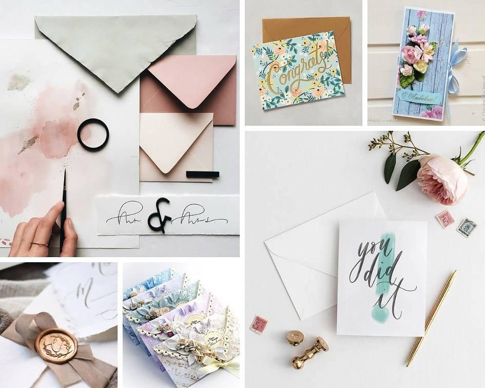 Как подписаться на поздравительной открытке. как подписать открытку от души и с любовью