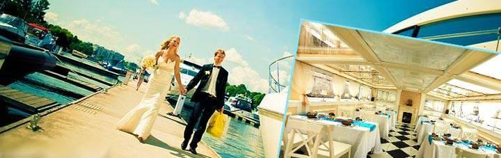 Свадьба в морском стиле (фото)