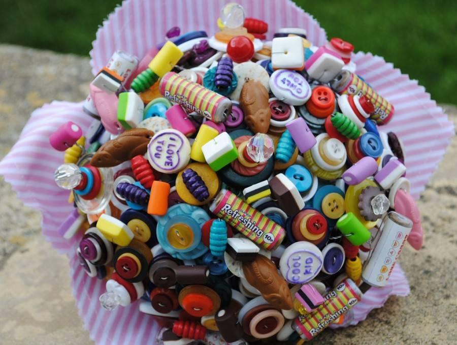Отличный букет из конфет своими руками