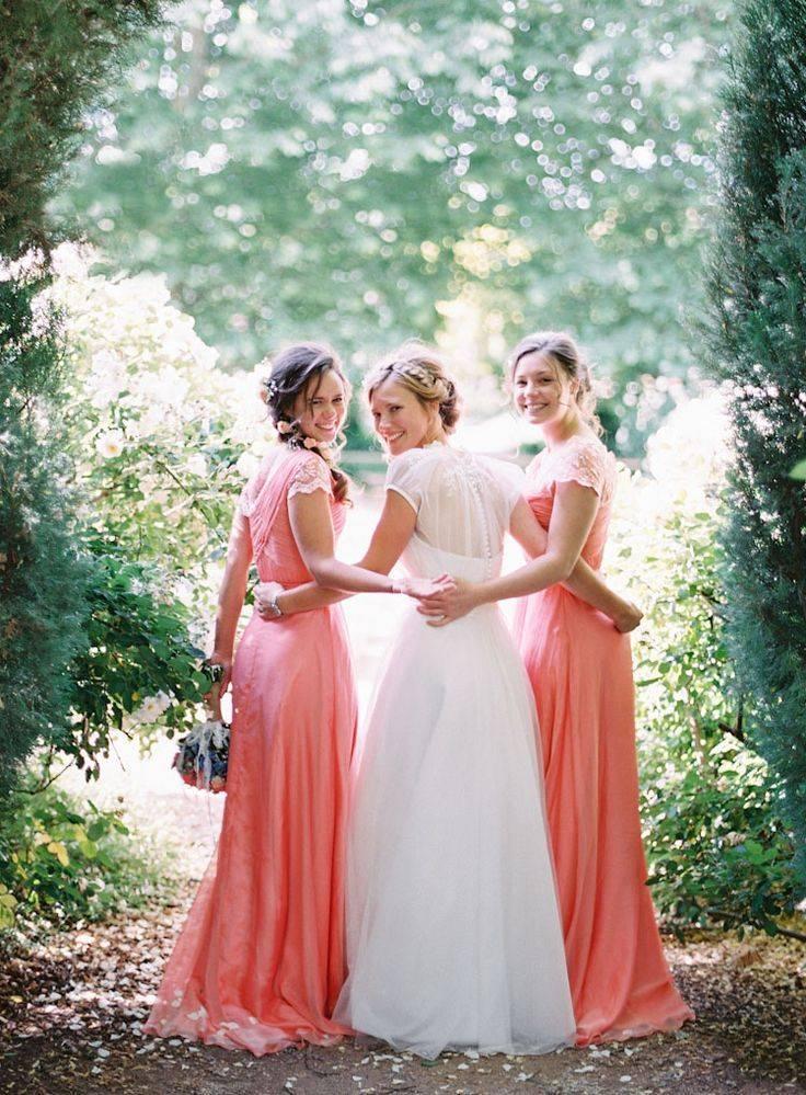Свадьба в коралловом цвете: организация по этапам