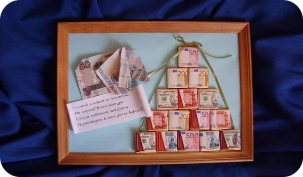 Оригинальные подарки молодоженам своими руками: мастер-классы с фото