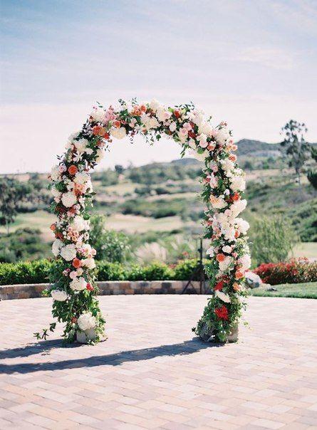 Как сделать свадебную арку своими руками?