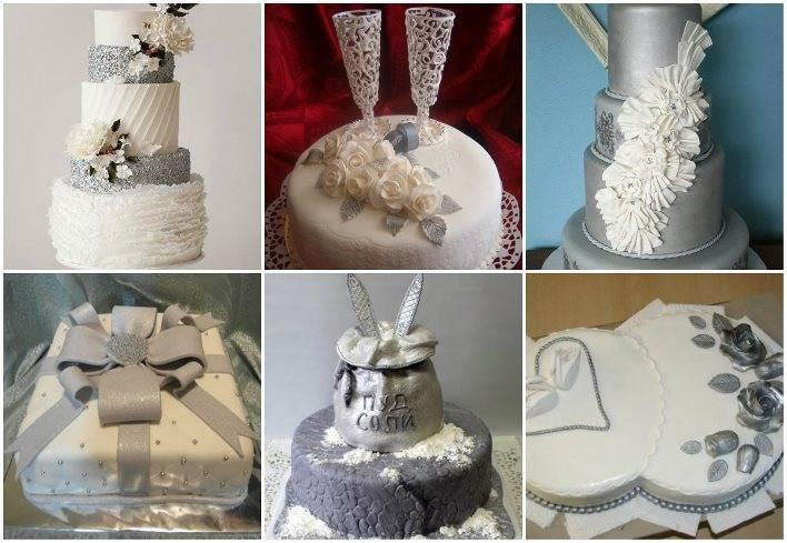 Торт на годовщину свадьбы – идеи оформления