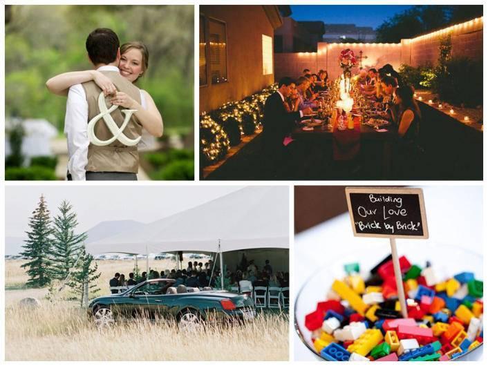 Идеи оформления и проведения свадьбы на природе