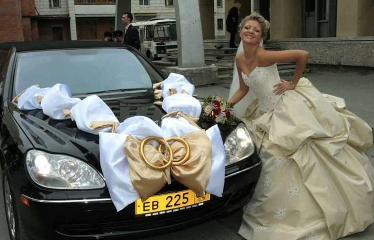 Украшение машин гостей на свадьбу, фото как украсить
