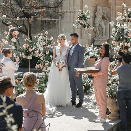 Свадьба в итальянском стиле: фото и особенности организации