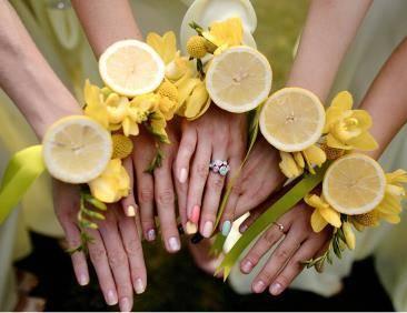 Свадьба в желтом цвете: оформление и организация свадьбы лимонного цвета