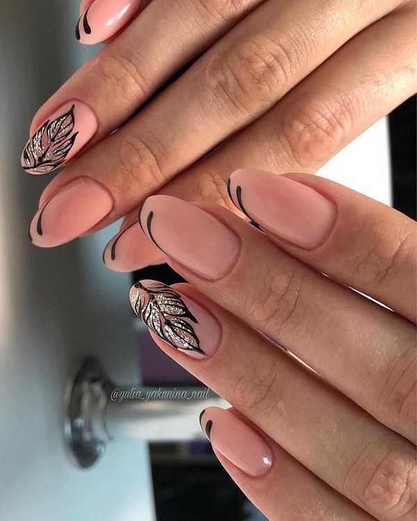 Маникюр на короткие ногти шеллаком 2020: стильные тенденции и 100 идей дизайна
