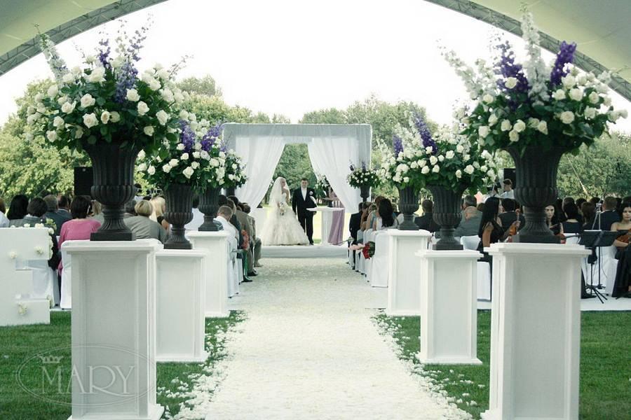 Свадьба в европейском стиле (фото и видео)