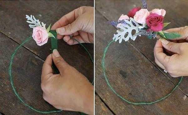 Свадебная прическа с цветком (70 фото): как уложить волосы с венком из живых красных бутонов для невесты?