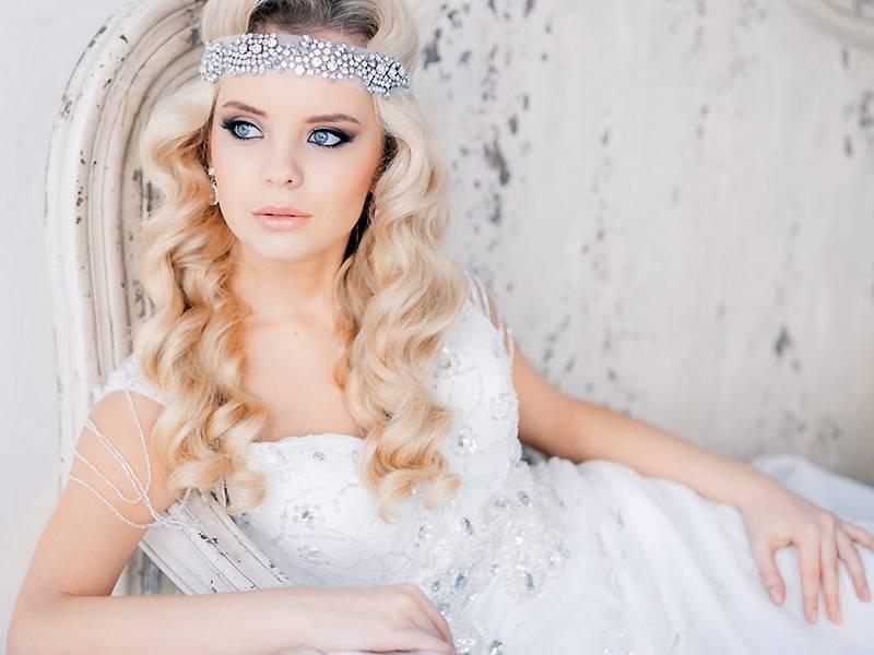 Свадебное украшение для невесты: виды, лучшие модели и фото